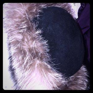 Genuine Fox Fur Head Band (Hat)